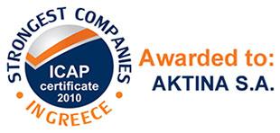 Aktina ICAP Strongest Companies 2010